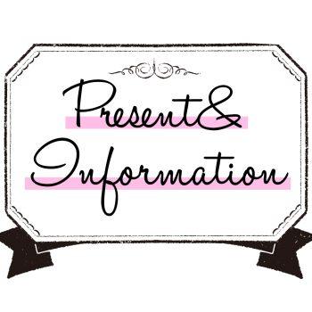 LOVEggg7月号 Present&Information